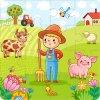 farma chlapec 4x4 puzzle