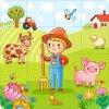 farma chlapec 4x4 stvorce