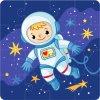 astronaut 4x4 puzzle