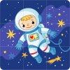 astronaut 3x3 stvorce