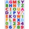 Písmenká a číslice - plstený panel