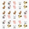 Zvieratká Domino - bavlnený panel