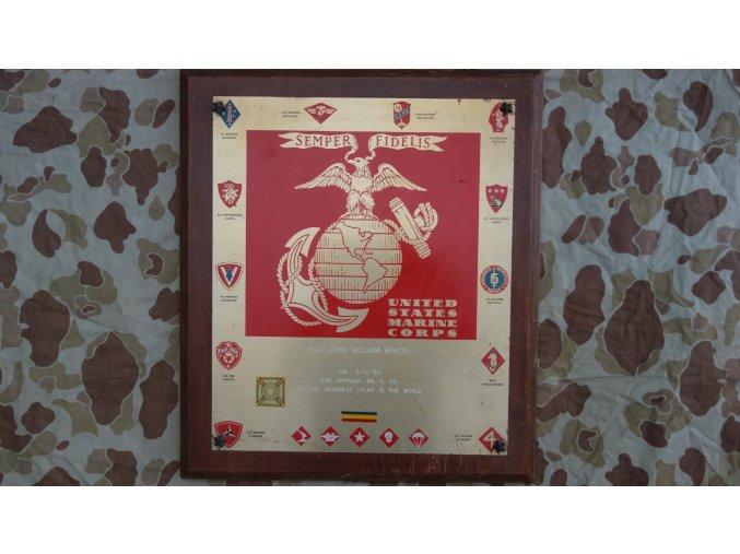 1521 usmc pametni plaketa 2nd amtrack bn c co