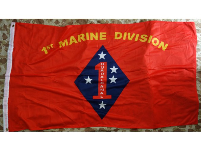 2918 vlajka usmc 1st marine division