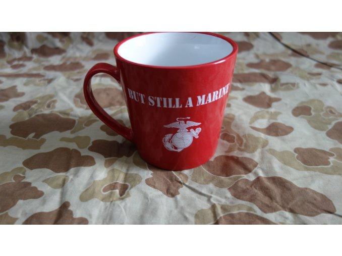USMC hrnek červený