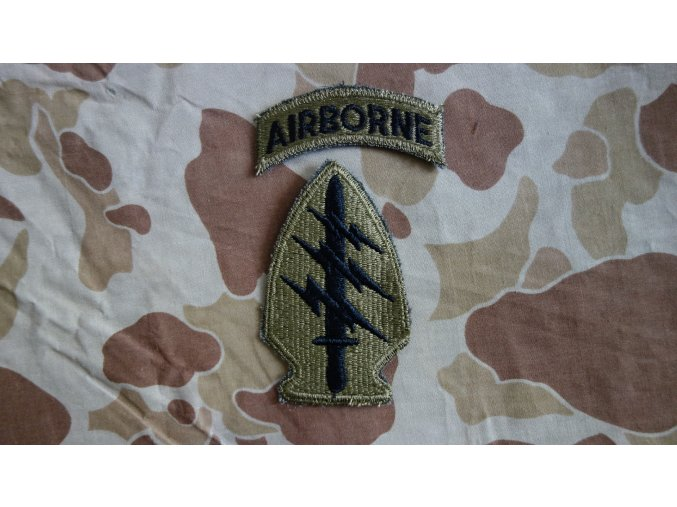 Nášivka Special Forces bojová - NAM