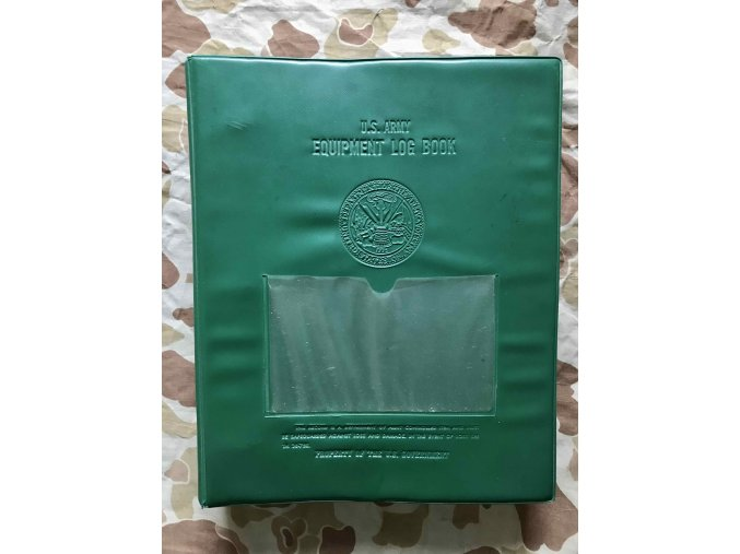 Desky U.S. Army Equipment Record Folder