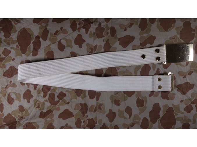 USMC opasek bílý 106cm