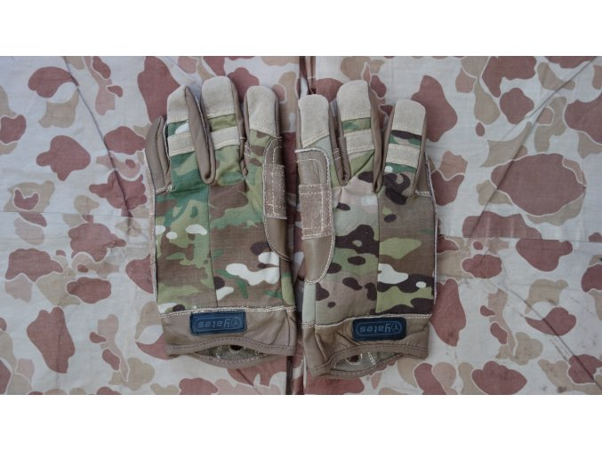 Fast rope rukavice Yates Multicam