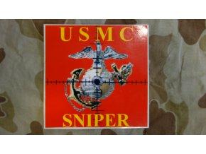 4028 nalepka usmc sniper
