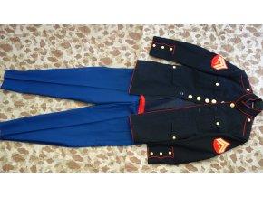 3107 usmc blue dress 38r sako 33l kalhoty