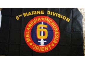 2924 vlajka usmc 6th marine div