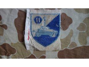 Nášivka 11. Obrněný pluk ARVN