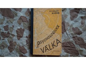 Kniha Psychologická válka