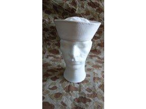 Bílá čepice US. NAVY