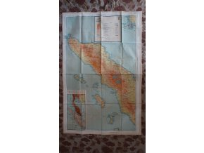 US mapa na textilu - Siam (Thailand) Sumatra (North)