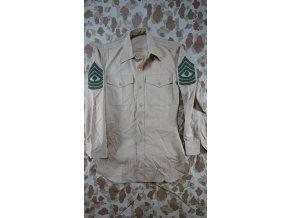 USMC písková košile dlouhý rukáv - starý typ