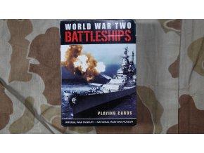 Hrací karty s vojenskou tématikou