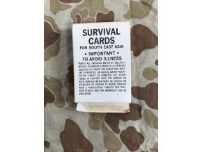 Survival Cards for South East Asia