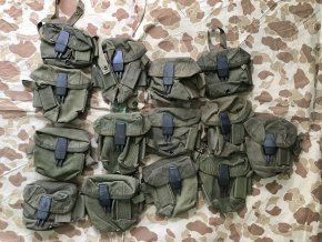 Case Ammunition, M16, 20 Round Magazines - M1967