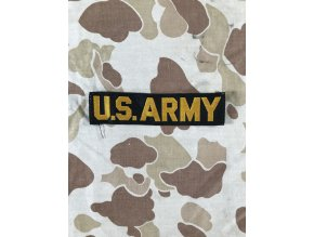 Nášivka US Army černo žlutá