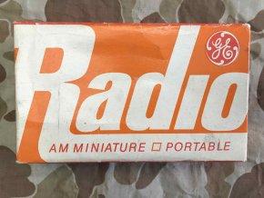 General Electric Transistor Radio
