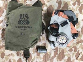 Plynová maska M9A1 - NOS