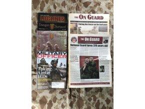 Soubor US armádních časopisů a novin