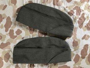 Cap Garrison Man's Poly/Wool Gabardine