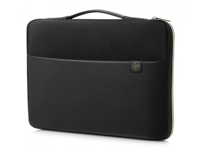 HP Carry Sleeve Black Gold 0b
