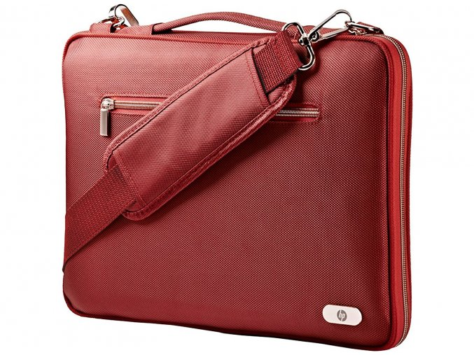 "Brašna na notebook HP Slim Brief Case Red 14"" J1A14AA"
