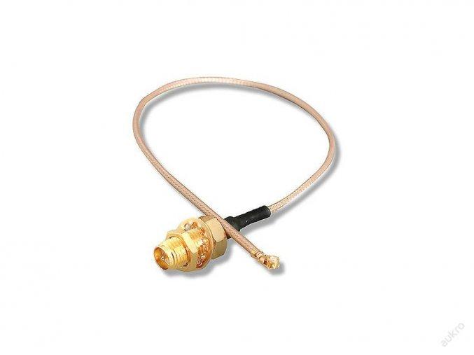 HP pigtail U.FL/U-FL na RSMA/RP-SMA kabel 35cm