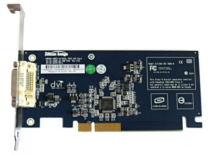 Grafická karta HP Silicon Image DVI-D PAD
