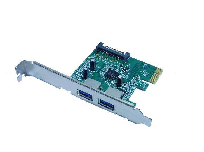 2x USB 3.0 Řadič do PCI-e x1, HP 608151-001