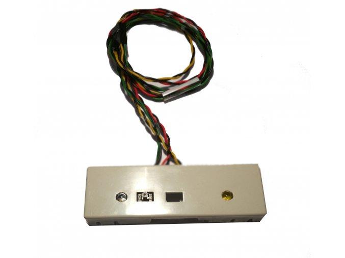 Tlačítko s LED diodami - zápínací tlačítko Intel front panel
