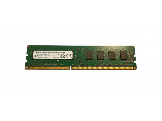 Crucial (Micron) operační paměť pro PC 4GB DDR3 PC3L-14900U 1RX8 CL13