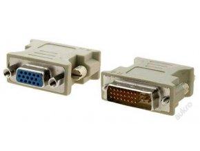 Redukce / přechodka DVI (samec) na VGA (samice)