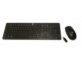 Bezdrátový set klávesnice a myši HP Wireless Business SLIM WirBR