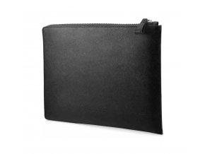Kožené pouzdro pro notebook, černé, HP Elite Black Leather Sleeve