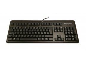 USB klávesnice HP Smartcard CCID CZ
