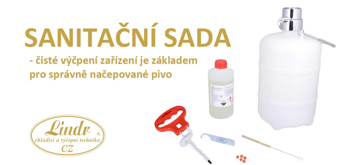 Sanitace výčepních zařízení Lindr