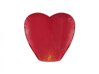 lampion stastia cervene srdce