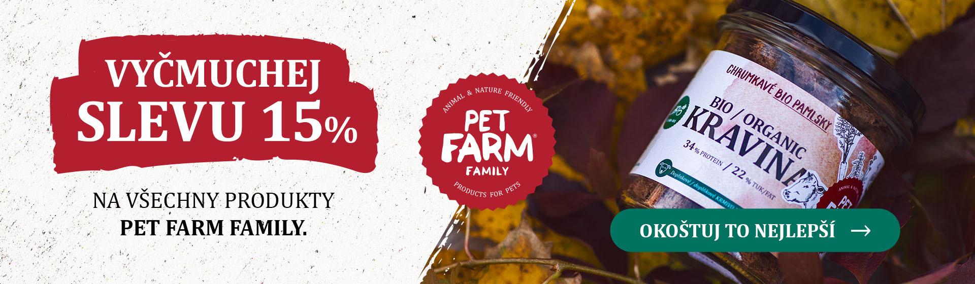 Sleva Pet Farm Family