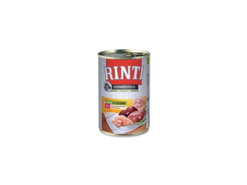 Finnern Rinti Senior konzerva pro psy kuře 400g
