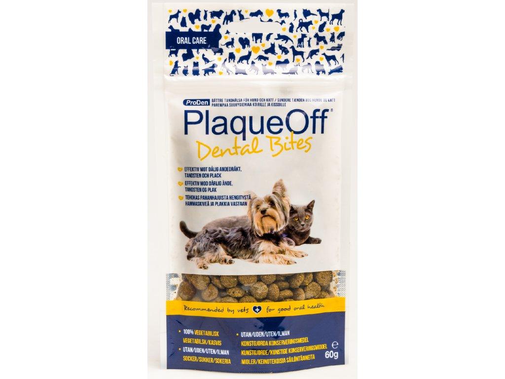 PlaqueOff Dental Bites 60g (expirace: 30.5.2021)