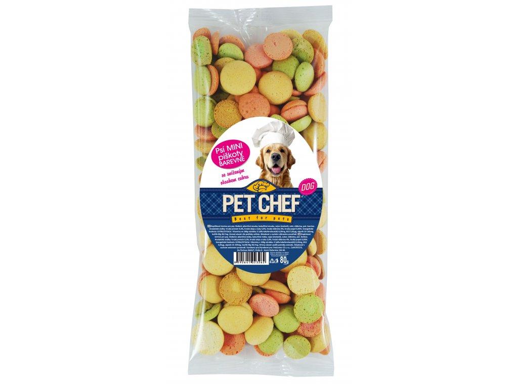 Pet Chef Mini Piskoty Mix 80g