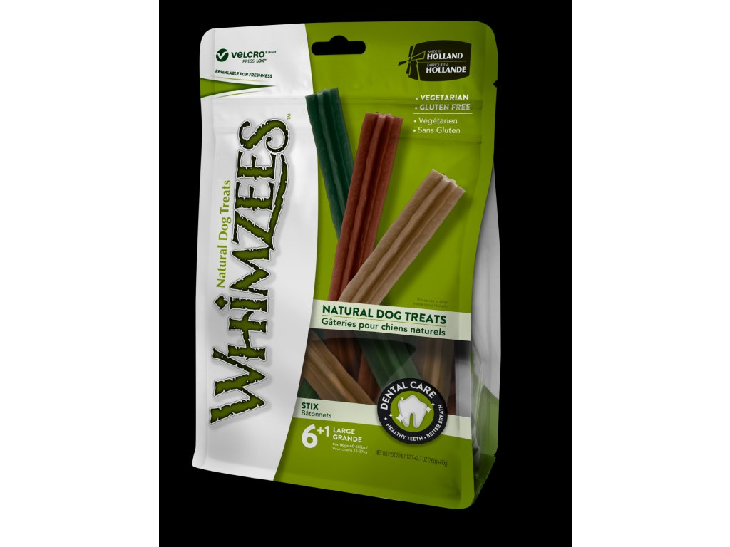 WHIMZEES Dental Stix L 60g 6+1ks