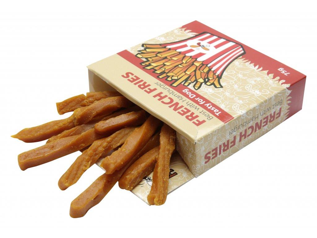 Huhubamboo French fries 75g