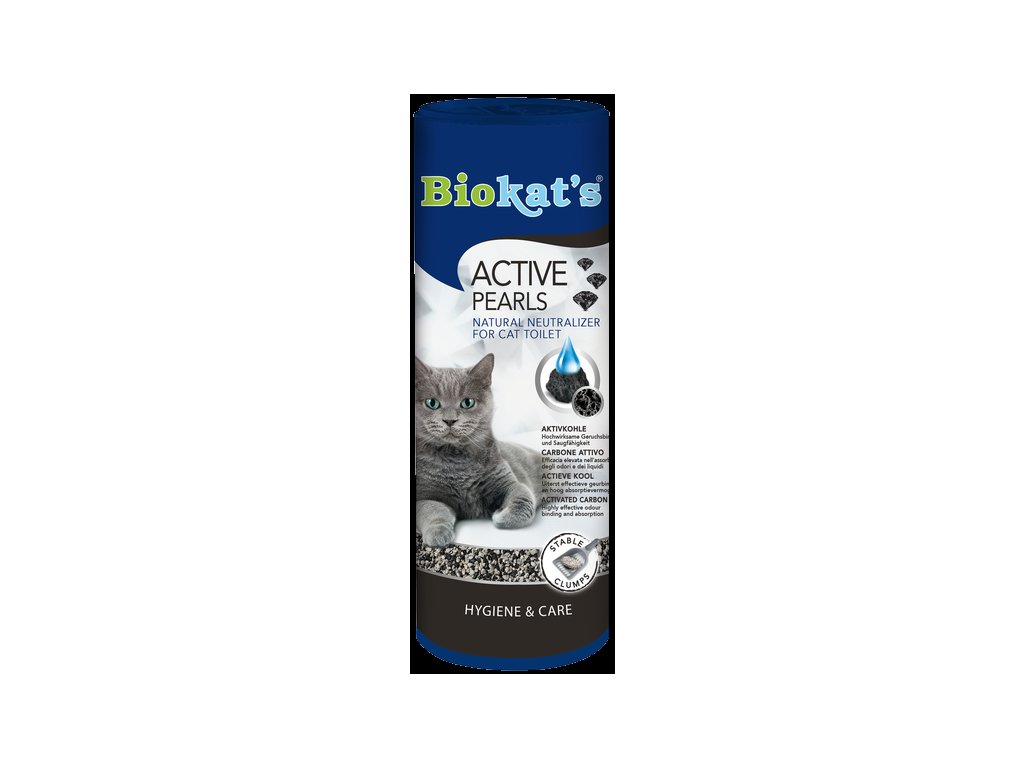 Biokat's Active pearls uhli do WC 700ml