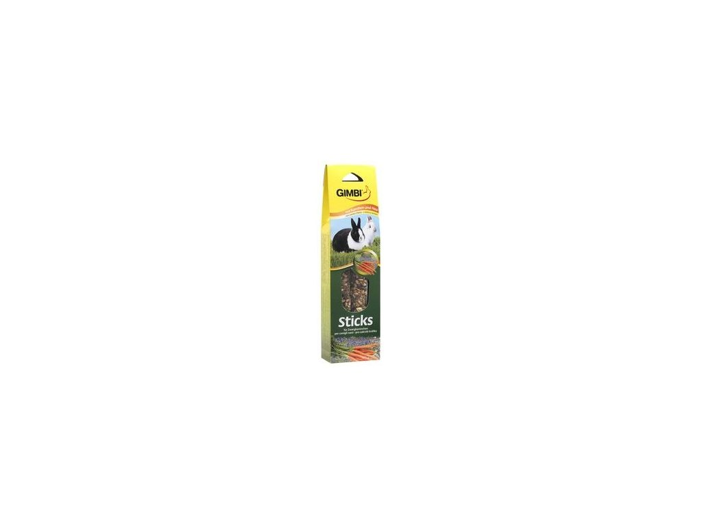 Gimborn Sticks kralik bylinky+seno 2ks